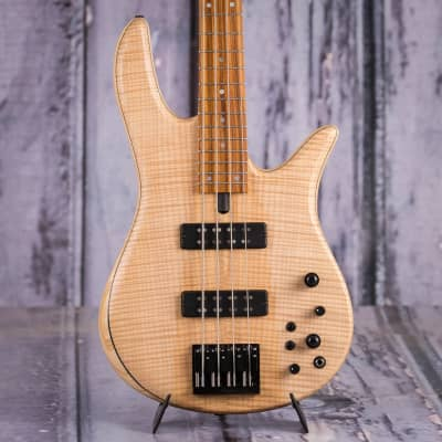Fodera Monarch Standard Bass, Natural for sale