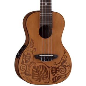Luna Guitars Ukulele Solid Cedar Concert for sale