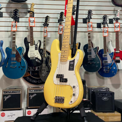 Fender Player Series Precision Bass Buttercream Maple w/ Free Shipping, Auth Dealer