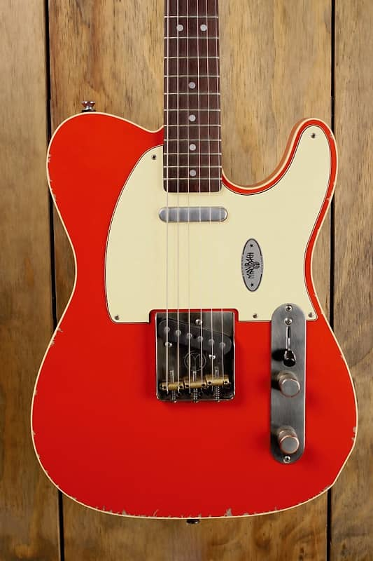 maybach teleman t61 red rooster aged custom shop 2018 fiesta | reverb