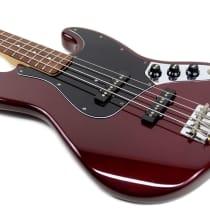 Fender Standard Jazz Bass 1989 Midnight Wine image