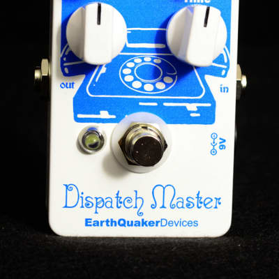 New EarthQuaker Devices Dispatch Master V2 Delay & Reverb