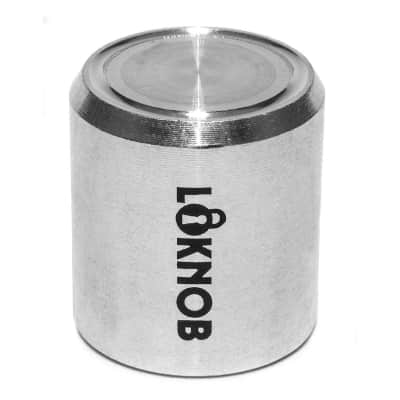 NEW LOKNOB FUGGEDABOUDIT TOUR CAP silver for 6mm splined shaft pots 13126