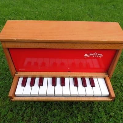 Toy Piano Michelsonne 20 keys 1960 Bois