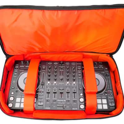 Rockville RDJB20 DJ Controller Travel Bag Case For Numark Mixdeck+Express+Quad