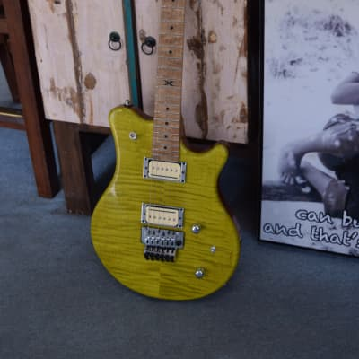 Guilford Ty Tabor model electric Guitar 2014 ? Manalishi Green for sale