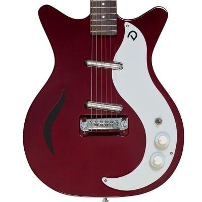 Danelectro '59M Spruce Double Cutaway Electric Guitar | Chianti