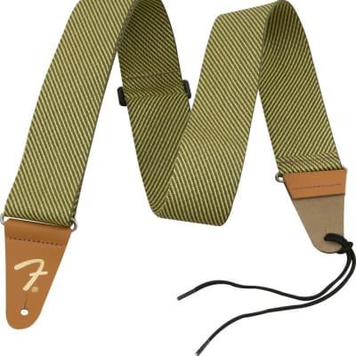 """Fender 2"""" Vintage Tweed Guitar Strap, #099-0687-000"""
