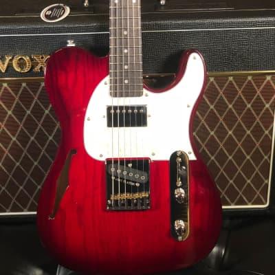 Demo G&L Tribute ASAT Classic Bluesboy Semi-Hollow Electric Guitar image