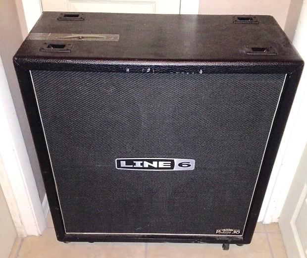 Line 6 4x12 guitar speaker cabinet unloaded no speakers | Reverb
