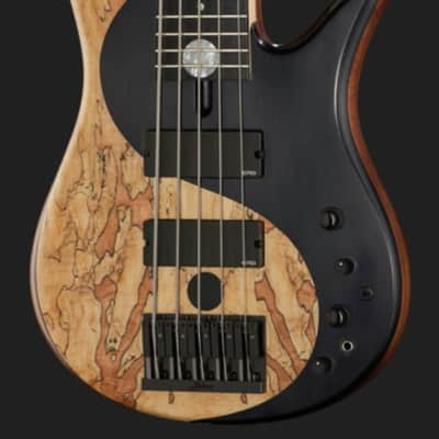 Fodera Fodera Yin Yang Standard 5 LTD Olive 2018 painted Yin Yang for sale