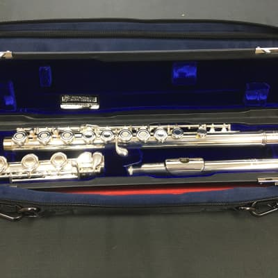 Powell Sonare PS51BGF Open Hole Flute, Inline, Solid Silver HJ, Plated Body