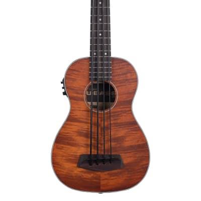 Kala Exotic Mahogany Acoustic/Electric U-Bass, Satin Mahogany for sale