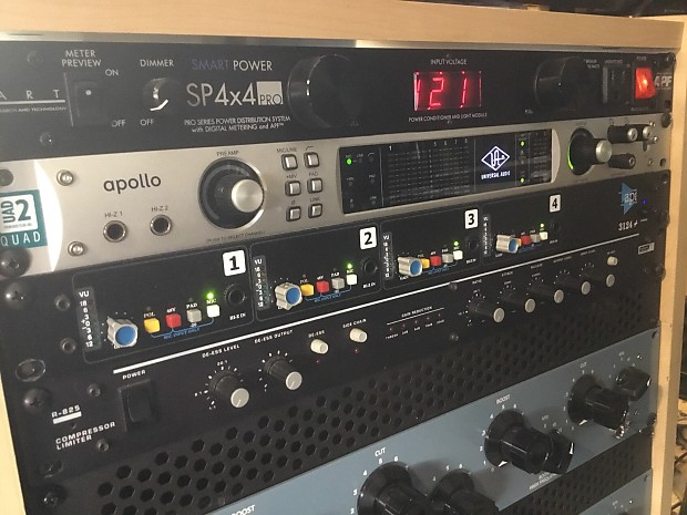 API 3124+ 2-channel Preamp | Jeff's Boutique