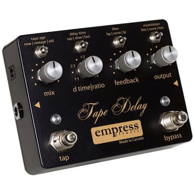 Empress Tape Delay Boutique Guitar Effects Pedal