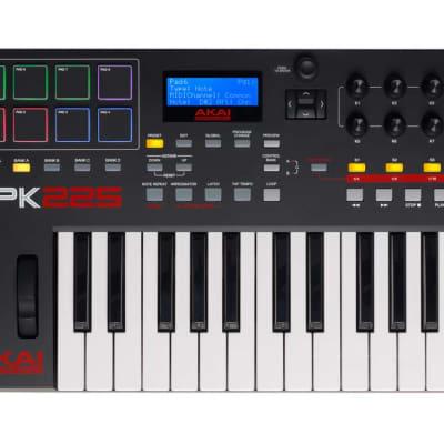 Akai MPK225 Compact USB/MIDI 25-key Keyboard Controller MPK 225