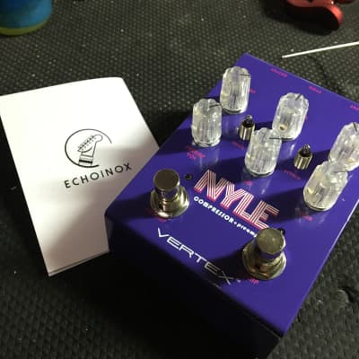 [FREE Intl Shipping] Vertex Effects Nyle Compressor / Vintage Preamp 2019 Purple