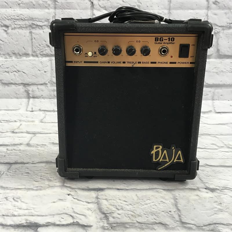 baja bg 10 small guitar combo amp reverb. Black Bedroom Furniture Sets. Home Design Ideas