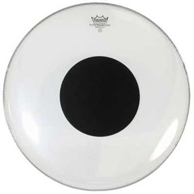 Remo Controlled Sound Clear Drum Head with Black Dot