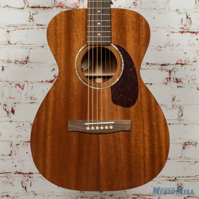 Guild M-120E Acoustic/Electric Guitar Natural Mahogany B-Stock x8172 for sale