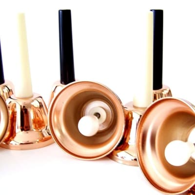 Rhythm Band 25 Note Chromatic Handbell Single Ring Melody Bells