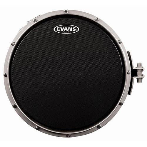 evans 14 hybrid s black marching snare drum head reverb. Black Bedroom Furniture Sets. Home Design Ideas