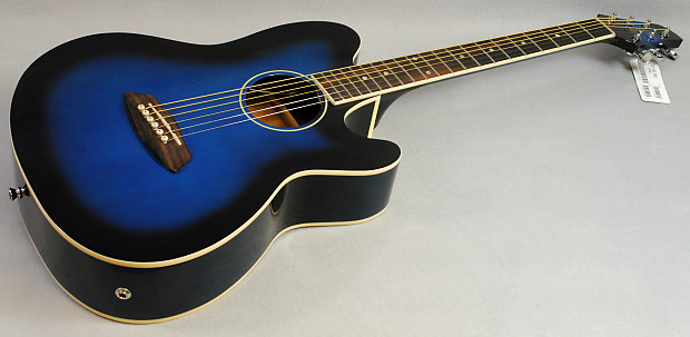 Ibanez Talman Tcy10e Tbs Acoustic Electric Guitar Transparent Reverb
