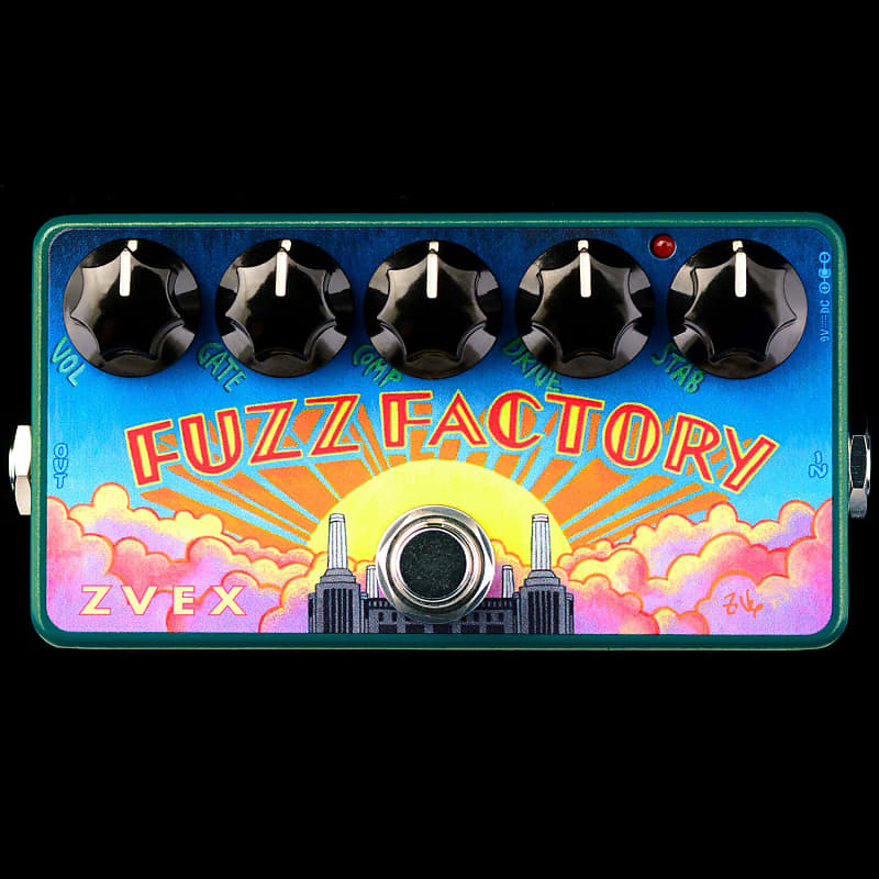 ZVEX Fuzz Factory Vexter Series 25th Anniversary Fuzz Effects Pedal