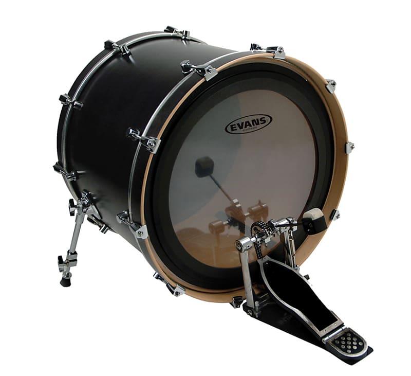 evans 22 emad batter clear bass drum head guitar reverb. Black Bedroom Furniture Sets. Home Design Ideas