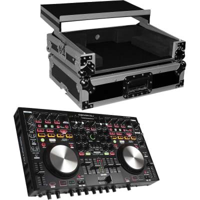 Denon DNMC6000MK2 Professional Digital Mixer and Controller. With ProX Flight Case For MC6000MK2 .