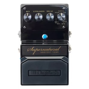 DigiTech Supernatural Stereo Ambient Reverb Pedal