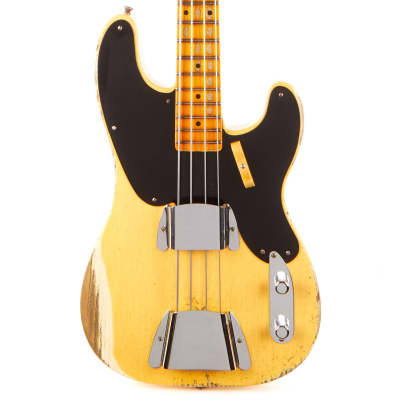 Fender Custom Shop 1951 Precision Bass Vintage Custom Heavy Relic - Aged Nocaster Blonde for sale