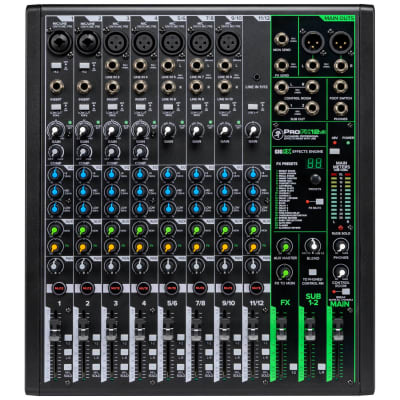 Mackie ProFX12v3 12-Channel Effects Mixer