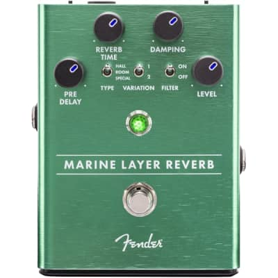 New Fender Marine Layer Reverb Pedal