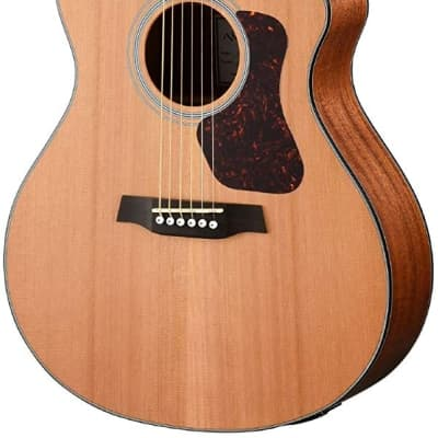 Walden G570CE Natura Solid Cedar Top Grand Auditorium Acoustic Cutaway-Electric Guitar - Open Pore Satin Natural for sale