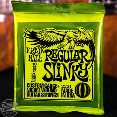 {3 Sets} Ernie Ball 2221 Regular Slinky Electric Guitar Strings, .010 - .046
