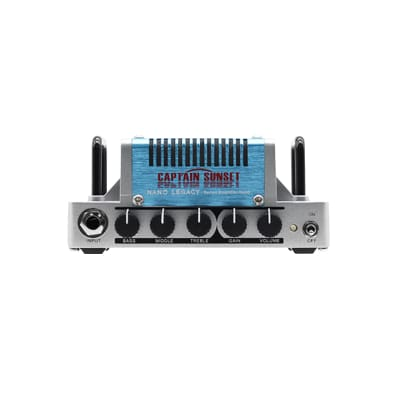 Hotone Nano Legacy Series Captain Sunset Guitar Amplifier Head [NLA-9] for sale