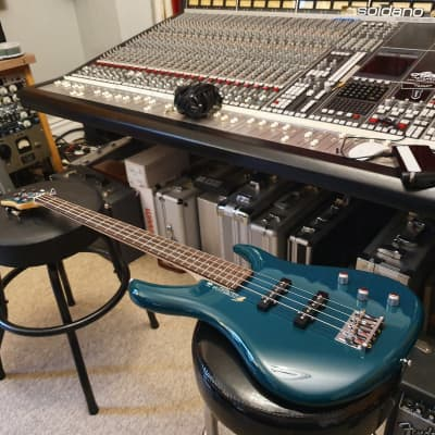 NEW ESP Edwards RARE - HB Professional Jazz Bass - Coral Green Gotoh MIJ Japan Japanese 24 Fret for sale
