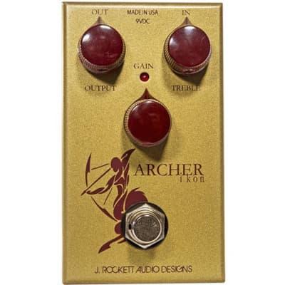 J Rockett Audio Designs Tour Series Archer Ikon Overdrive/Boost Guitar Pedal for sale
