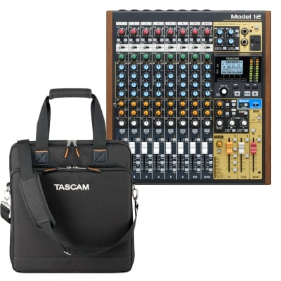 Tascam Model 12 Integrated Mixer - Padded Carrying Bag