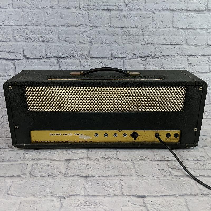 marshall jmp 1959 super lead 2 channel 100 watt guitar amp reverb. Black Bedroom Furniture Sets. Home Design Ideas