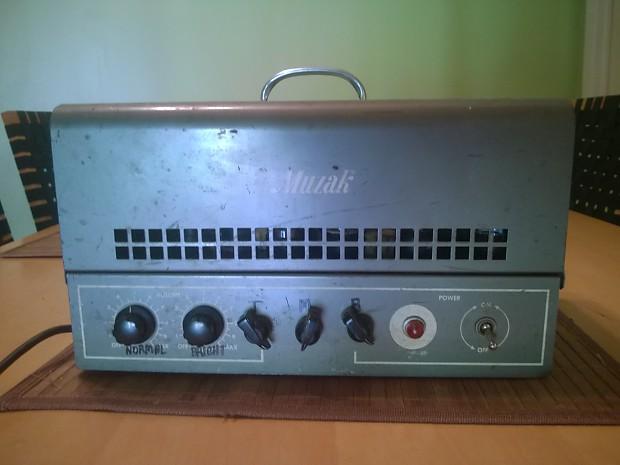 Pro-Mod Muzak 920A  Vintage Crunch, Dual Channel Hand Wired