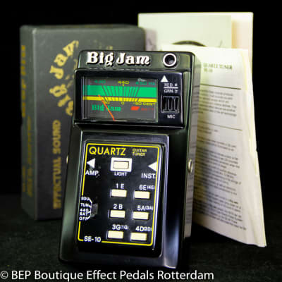 Multivox  Big Jam SE-10 Quarts Guitar Tuner late 70's s/n 0171 Japan