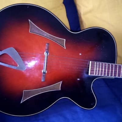 Huttl Opus  '60 solid top luthier archtop for sale