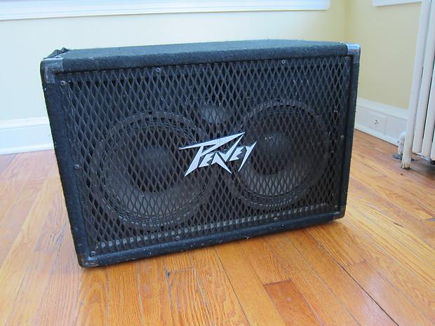 Peavey 210 TX 300-Watt 2x10 Bass Speaker Cabinet | Reverb