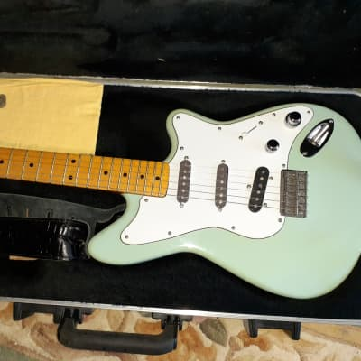 Fender Custom Firmtail Prototype Stratocaster Guitar Sonic Blue (3 pickup) Clapton Guitarist 70's George Terry 1979 for sale