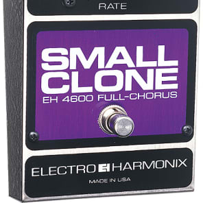 Electro Harmonix Small Clone Classic Analog Chorus Guitar Pedal w/ 9V Battery