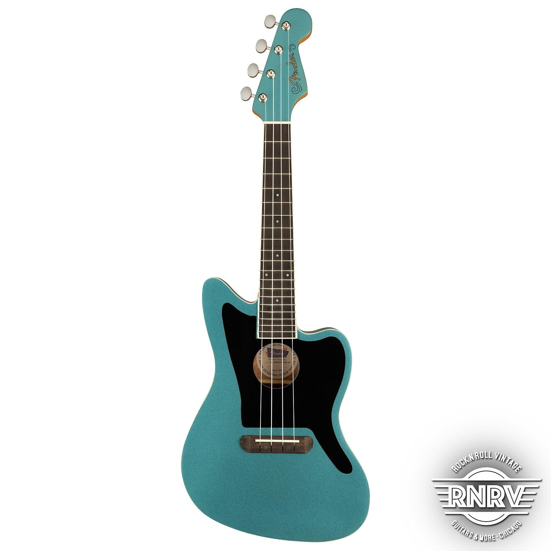 Fender Fullerton Jazzmaster Ukulele - Tidepool