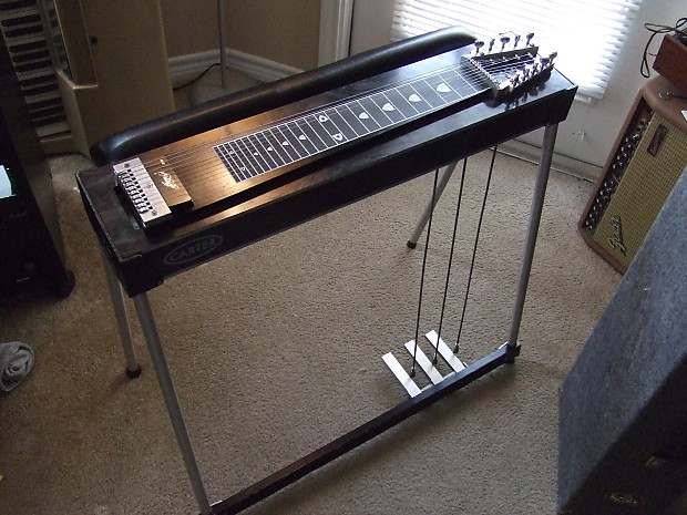 Metal Pedal Case : Carter s pedal steel with road case reverb