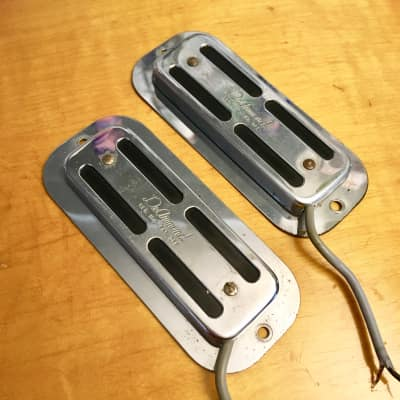 Dearmond rowe Toaster pickups top mount 1966 Chrome original | Reverb